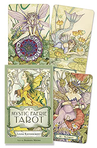 9780738744346: Mystic Faerie Tarot Deck