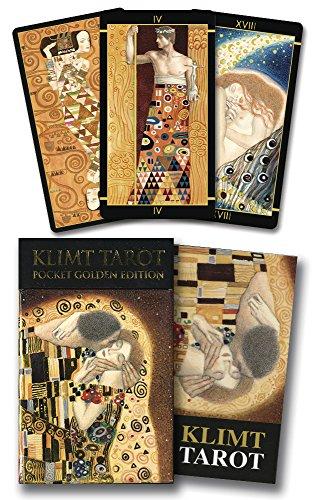 9780738745343: Klimt Tarot: Pocket Golden Edition