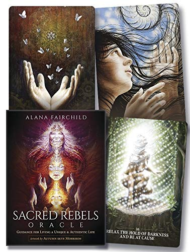 9780738745770: Sacred Rebels Oracle: Guidance for Living a Unique & Authentic Life