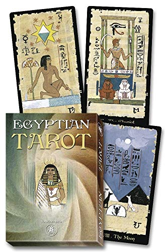9780738746364: Egyptian Tarot Grand Trumps