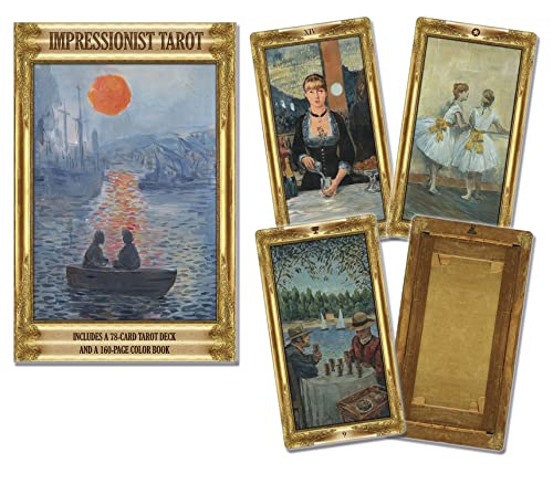 9780738746937: Impressionists Tarot Kit