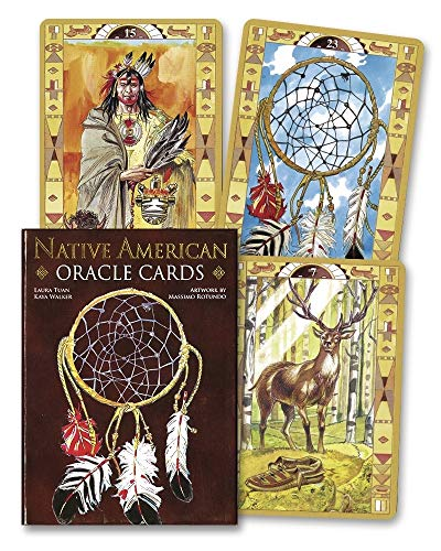 9780738747590: Native American Oracle Cards