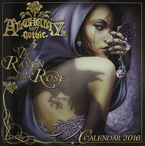 9780738747712: Alchemy 1977 Gothic 2016 Calendar: The Raven and the Rose