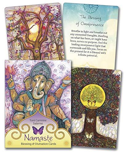 9780738749228: Namaste Blessing & Divination Cards