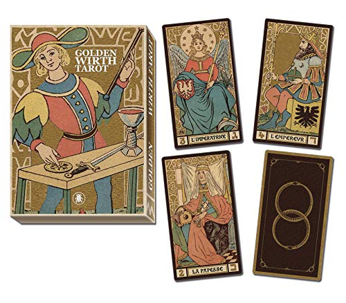 9780738749846: Golden Tarot of Wirth Grand Trumps