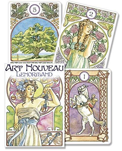 Art Nouveau Lenormand Oracle (Cards): Antonella Castelli, Lunaea