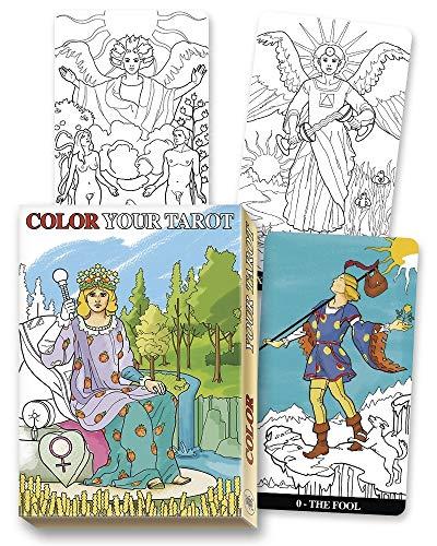 9780738749860: Color Your Tarot Deck