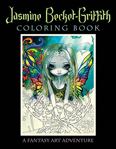9780738750019: Jasmine Becket-Griffith Coloring Book: A Fantasy Art Adventure