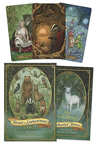 9780738751399: Forest of Enchantment Tarot