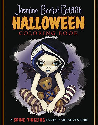 Jasmine Becket-Griffith Halloween Coloring Book: A Spine-Tingling Fantasy Art Adventure: ...
