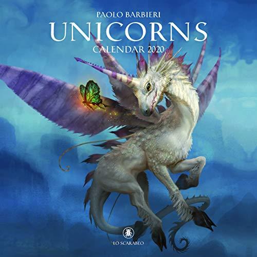 9780738762289: Paolo Barbieri Unicorns Calendar 2020