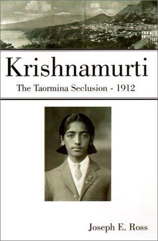 9780738851990: Krishnamurti: The Taormina Seclusion, 1912