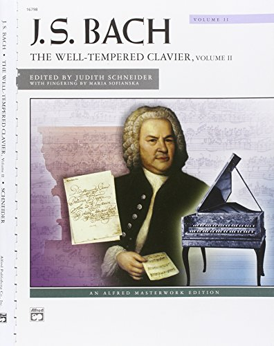 9780739000045: Bach -- The Well-Tempered Clavier, Vol 2: Comb Bound Book (Alfred Masterwork Edition)