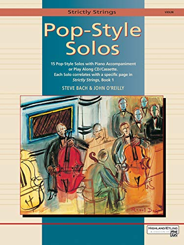 9780739000052: Strictly Strings Pop-Style Solos: Violin