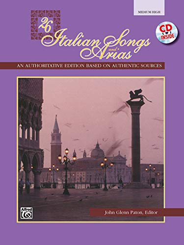 9780739000137: Twenty-Six Italian Songs and Arias: For Medium High Voice