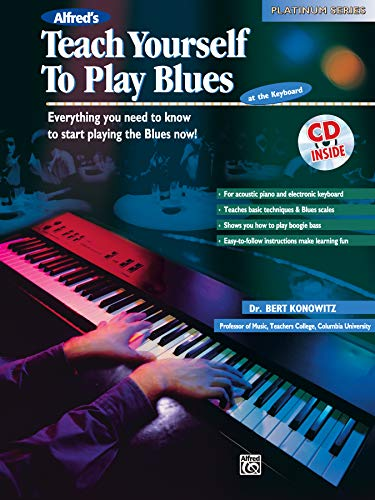 9780739000151: Alfred's Teach Yourself to Play Blues at the Keyboard