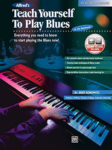 Alfreds Teach Yourself to Play Blues at the Keyboard: Everything You Need to Know to Start Playing the Blues Now!, Book CD