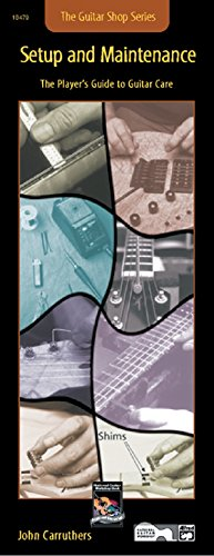 9780739000328: Guitar Shop -- Setup and Maintenance: The Player's Guide to Guitar Care (Handy Guide)
