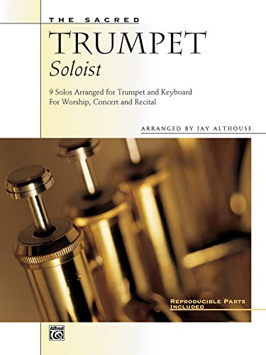 9780739000335: The Sacred Trumpet Soloist: 9 Solos for Trumpet & Keyboard