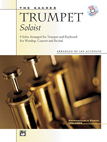9780739000342: The Sacred Trumpet Soloist: 9 Solos for Trumpet & Keyboard, Book & CD
