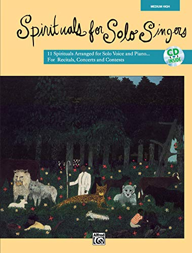9780739000595: Spirituals for Solo Singers: Medium High