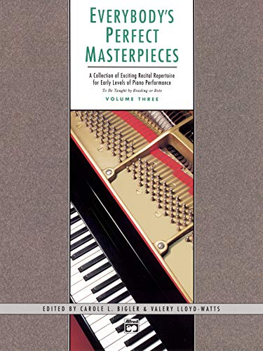 9780739000663: Everybody'S Perfect Masterpieces 3 (Alfred Masterwork Editions)