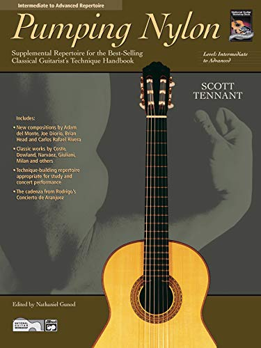 9780739000731: Pumping Nylon -- Intermediate to Advanced Repertoire: Supplemental Repertoire for the Best-Selling Classical Guitarist's Technique Handbook (Pumping Nylon Series)