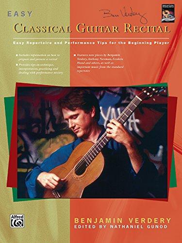 9780739000755: Easy Classical Guitar Recital