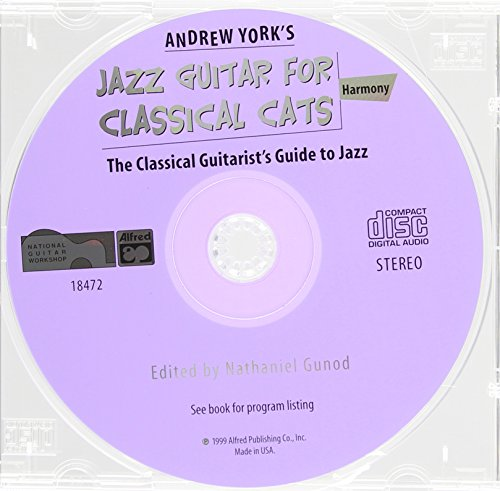 9780739001127: Andrew York's Jazz Guitar for Classical Cats: Harmony: The Classical Guitarist's Guide to Jazz
