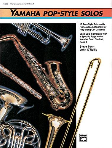 9780739001417: Yamaha Pop-Style Solos: Piano Accompaniment (Yamaha Band Method)