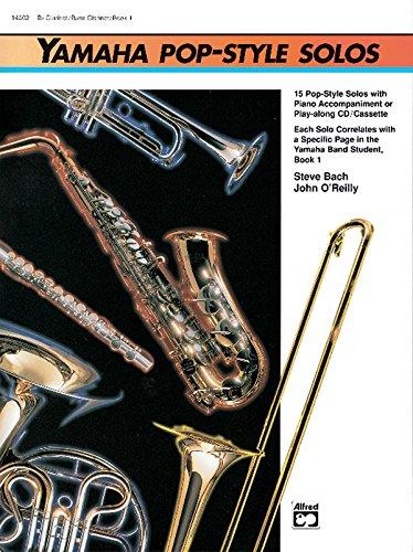 9780739001530: Yamaha Pop-Style Solos: Tenor Sax (Yamaha Band Method)