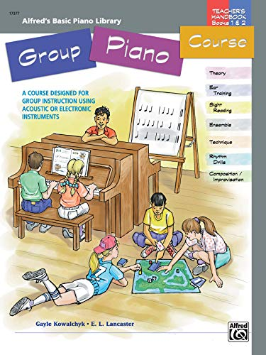 9780739002193: Alfred's Basic Group Piano Course: Books 1 & 2, a Course Designed for Group Instruction Using Acoustic or Electronic Instruments
