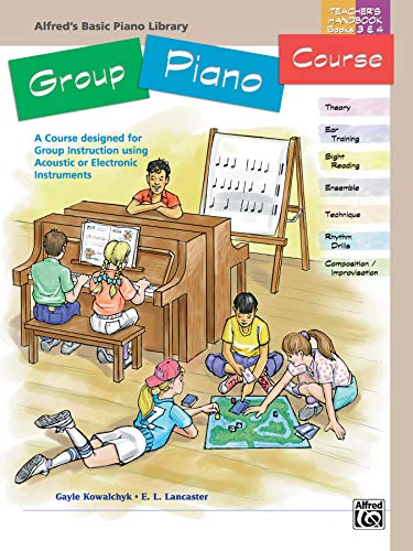 9780739002209: Alfred's Basic Group Piano Course Books 3 & 4