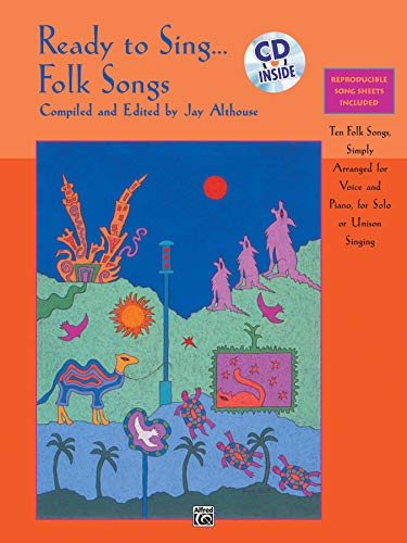 9780739002261: Ready to Sing... Folk Songs: 10 Folk Songs, Simply Arranged for Voice, and Piano, for Solo or Unison Singing