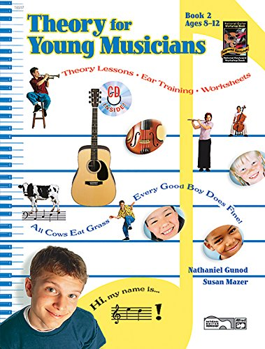 9780739002360: Theory for Young Musicians, Bk 2: Book & CD