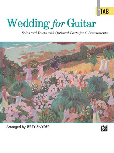9780739002483: Wedding for Guitar in Tab: Solos and Duets With Optional Parts for C Instruments