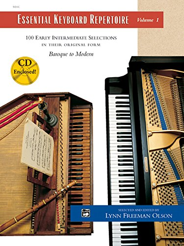 9780739002537: Essential Keyboard Repertoire: 100 Early Intermediate Selections in Their Original Form - Baroque to Modern