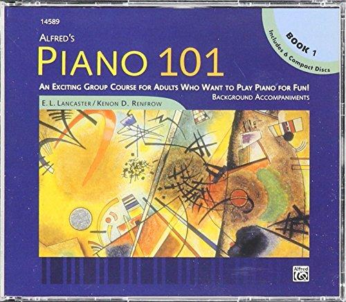 Piano 101 (6-CD set): Lancaster, E. L.; Renfrow, Kenon D.