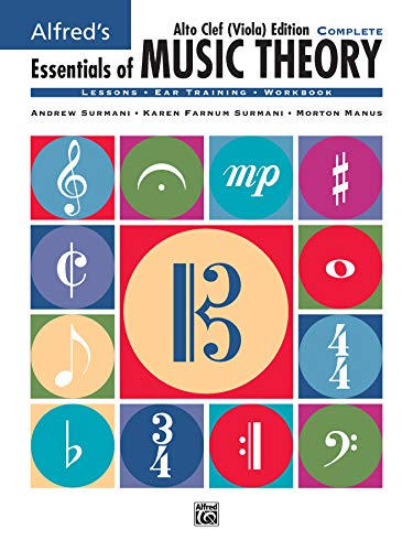 9780739002650: Alfred's Essentials of Music Theory: Complete Book Alto Clef (Viola) Edition, Comb Bound Book