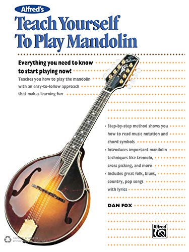 9780739002865: Alfred's Teach Yourself to Play Mandolin: Everything You Need to Know to Start Playing Now! (Teach Yourself Series)