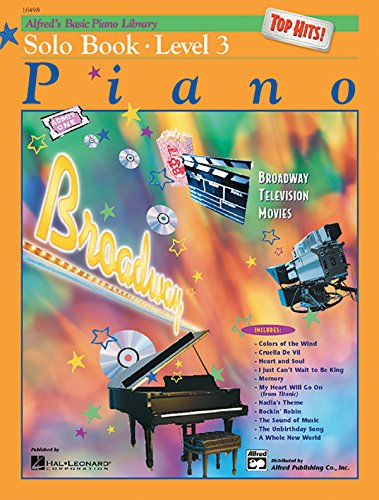 9780739002988: Alfred's Basic Piano Course Top Hits! Solo Book, Bk 3 (Alfred's Basic Piano Library)
