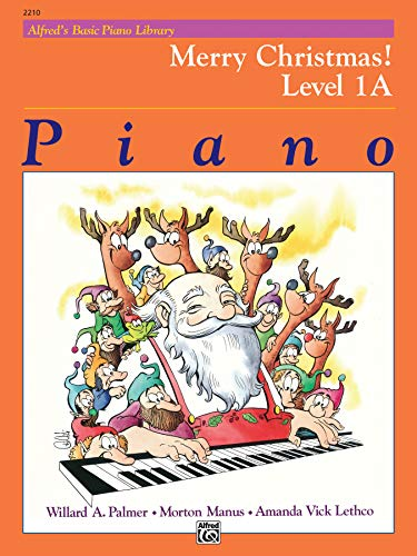 9780739003091: Alfred's Basic Piano Library Merry Christmas!, Bk 1A