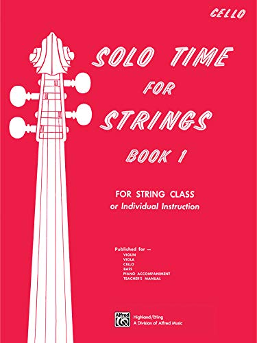9780739003299: Solo Time for Strings, Bk 1: Cello