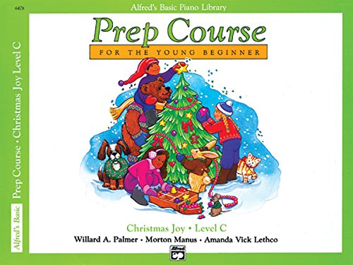9780739003398: Alfred's Basic Piano Prep Course: Christmas Joy! Level C (Alfred's Basic Piano Library)