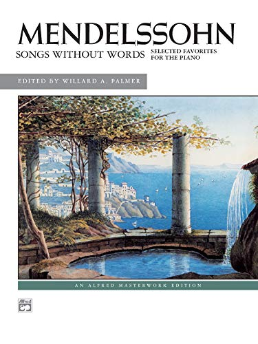 9780739003657: Songs Without Words: Selected Favorites, Alfred Masterwork Edition