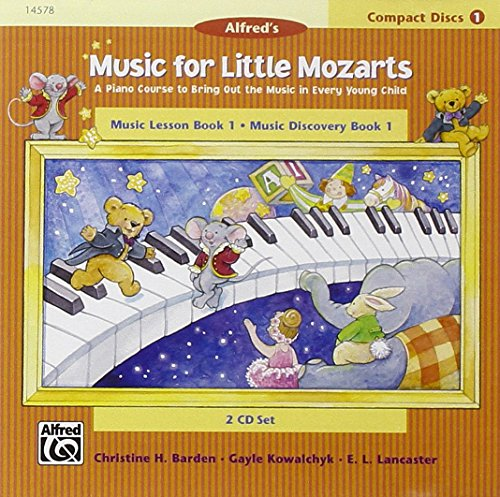 9780739003756: Music for Little Mozarts: Music Lesson Book 1: Music Discovery Book 1
