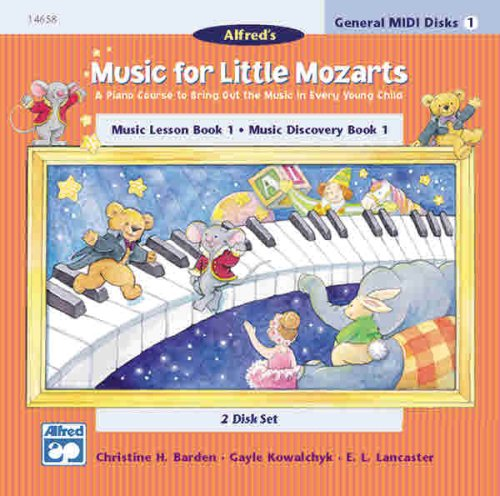 9780739003763: Music for Little Mozarts: GM 2-Disk Sets for Lesson and Discovery Books, Le