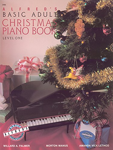 9780739003824: Alfred's Basic Adult Course Christmas, Bk 1 (Alfred's Basic Adult Piano Course)