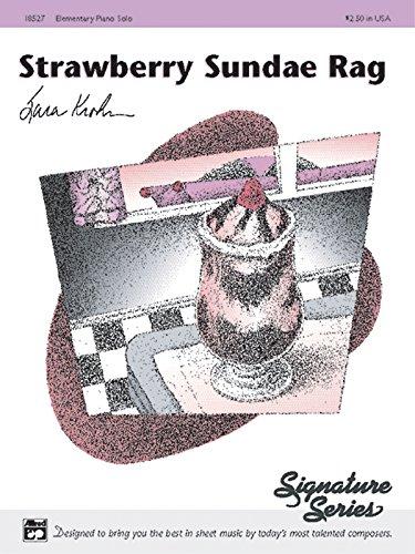 9780739003862: Strawberry Sundae Rag: Sheet