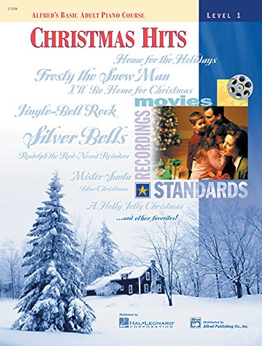 9780739004043: Alfred's Basic Adult Piano Course Christmas Hits, Bk 1